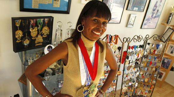 Rekord - maraton - Yolanda Holder