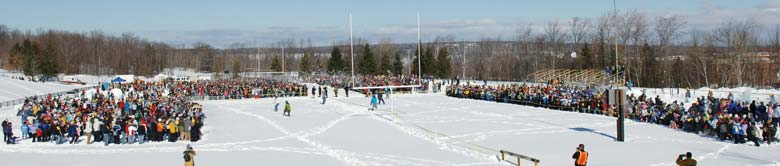 Śnieżna bitwa - Michigan Tech