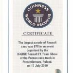 Rekord Renault – najdłuższa kolumna samochodów