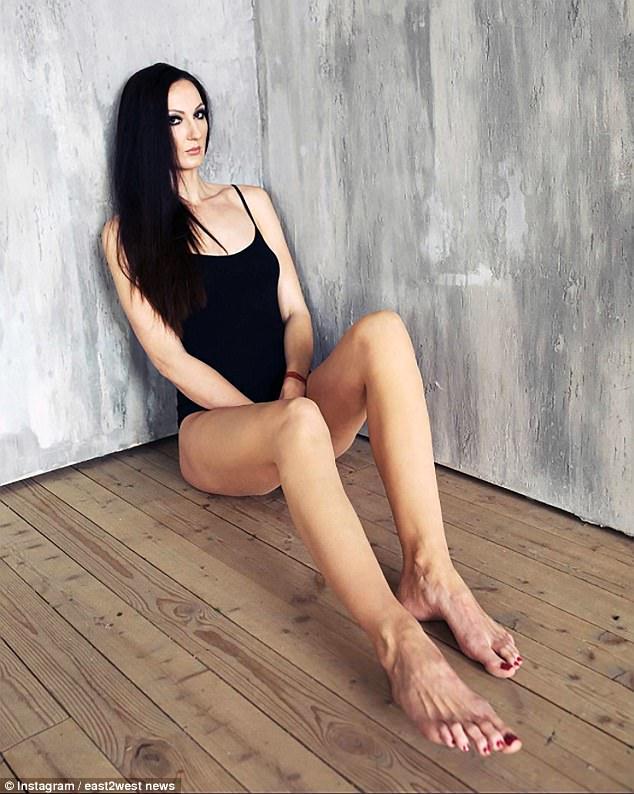 Ekaterina Lisina - najwyższa modelka naświecie