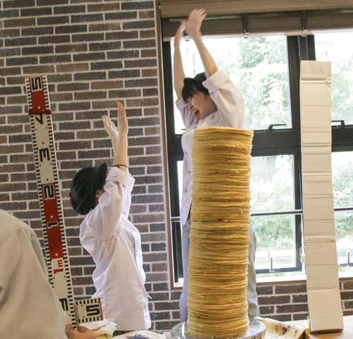 Najwyższa wieża znaleśników - rekord Guinessa