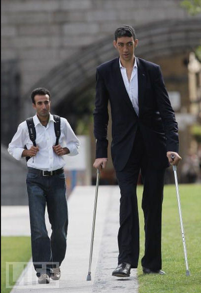 Najwyższy człowiek świata