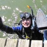 Prasowanie podwodą – rekord Guinessa