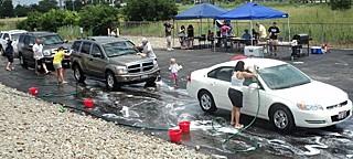 Mycie samochodów naczas - rekord Guinessa