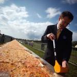 Kraków przygotował najdłuższą pizzę świata