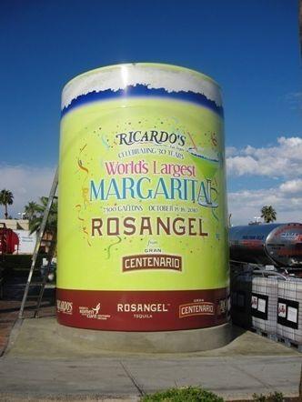Największa margarita świata – rekord Guinessa