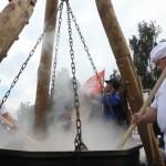 Największa miska owsianki – rekord Guinessa