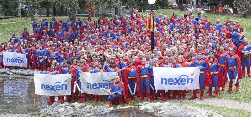 Najwięcej ludzi wstroju supermana