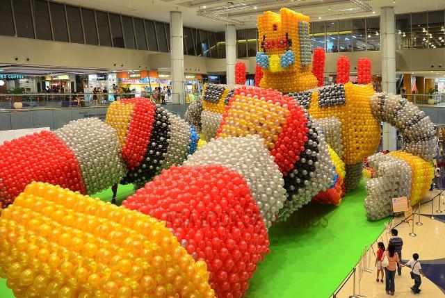 Największa rzeźba z balonów