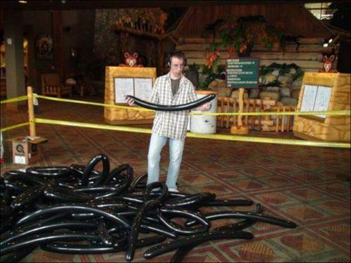 Największy balon - rekord Guinessa
