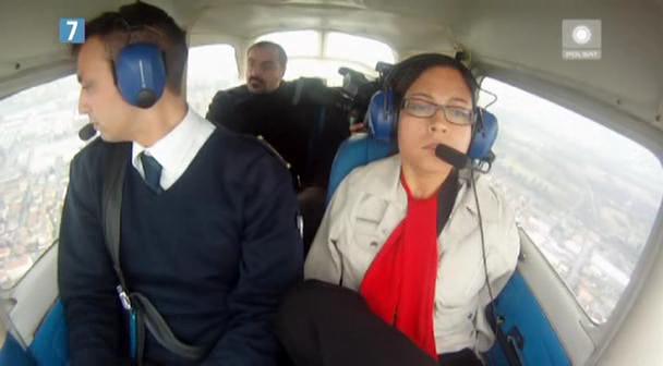 Pilotowanie samolotu bez pomocy rąk