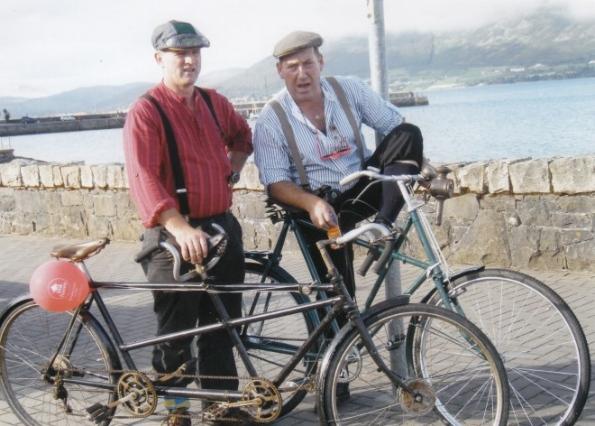 Zlot starodawnych rowerów