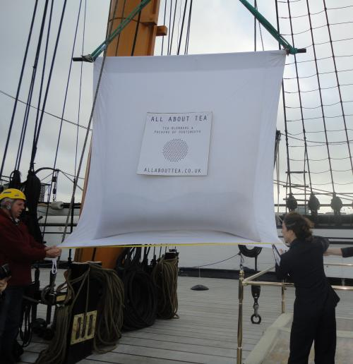 Największa torebka herbaty – rekord Guinessa