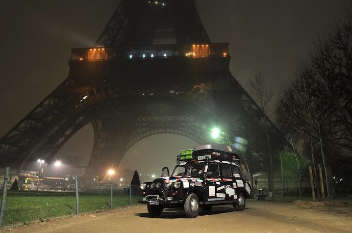 Najdłuższa podróż taksówką - rekord Guinessa