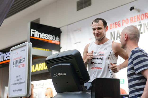 Krzysztof Tumko - rekord Guinnessa wLesznie