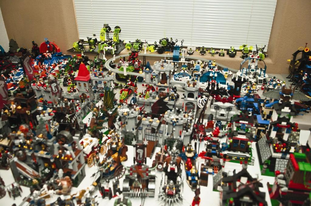 Największa kolekcja klocków Lego