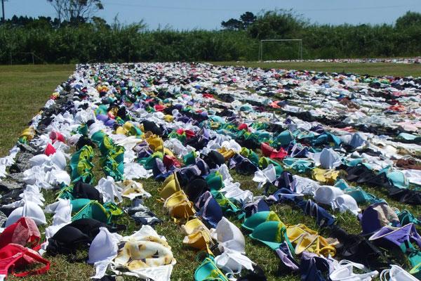 Biustonosze biją rekord Guinessa