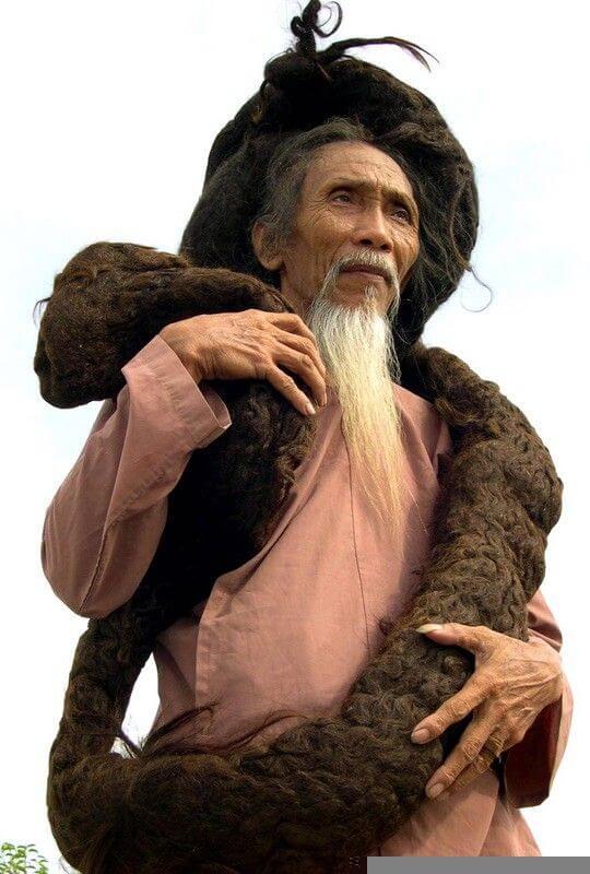 Najdłuższe włosy naświecie - rekord Guinessa