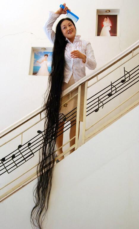 Najdłuższe włosy naświecie