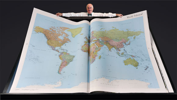 Największy atlas świata