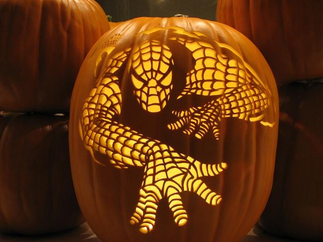 Dynia-spiderman