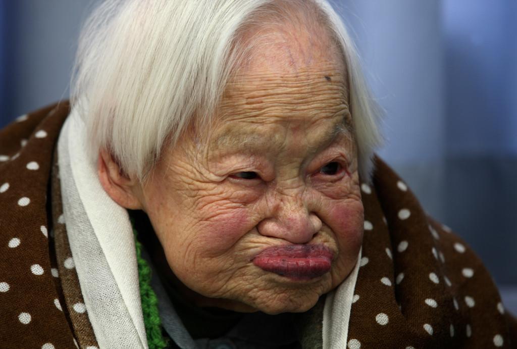 Misao Okawa - najstarsza kobieta naświecie