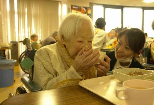 Misao Okawa - najstarszy człowiek naświecie