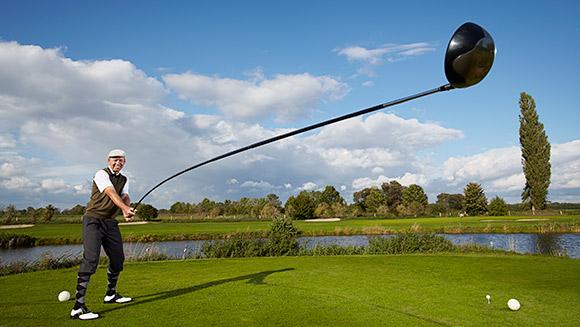 Najdłuższy kij golfowy