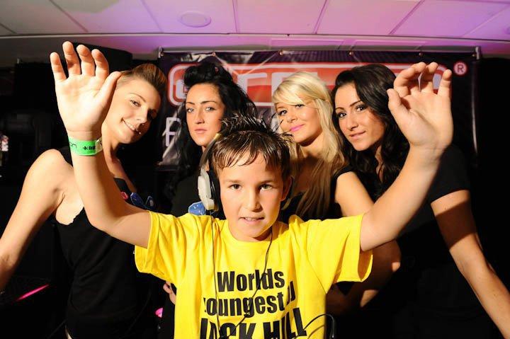 Najmłodszy DJ iproducent muzyczny