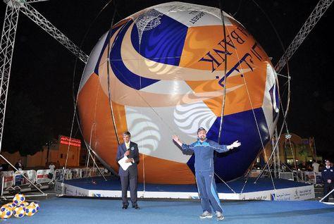 Największa piłka futbolowa