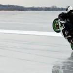 Motocyklem polodzie – rekord prędkości