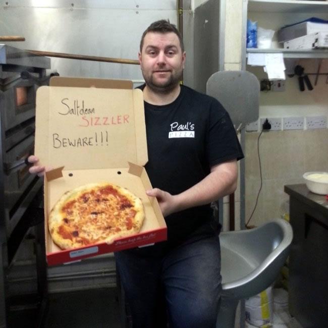 Najostrzejsza pizza - rekord