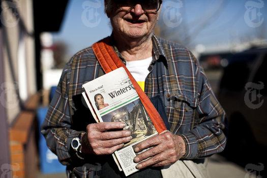 Najstarszy gazeciarz świata