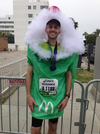 Najlepszy czas wmaratonie dla człowieka przebranego zanabiał