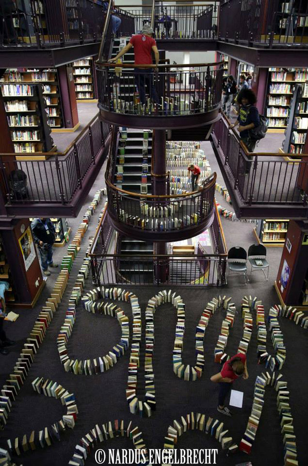 Książkowe domino - rekord