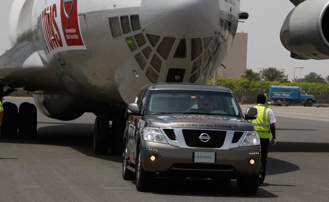 Nissan Patrol - rekord Guinessa