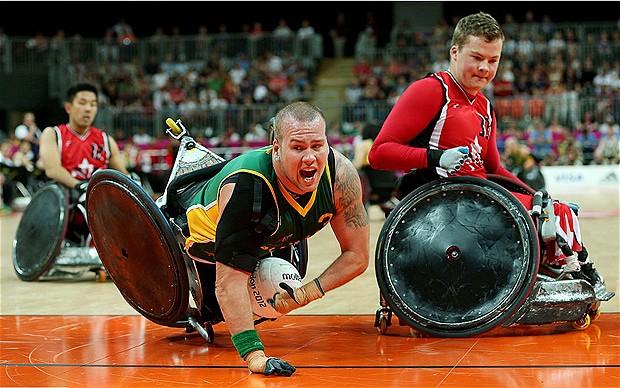Rugby nawózkach - Pniewy