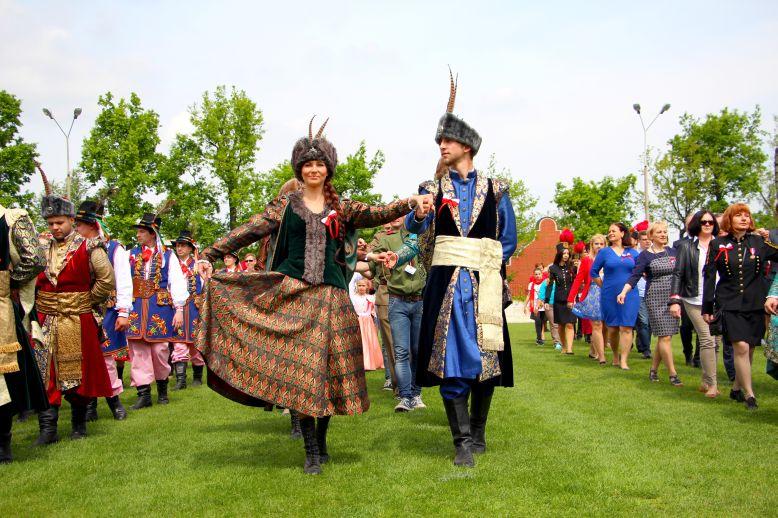 Wieliczka - polonez - Rekord Guinnessa