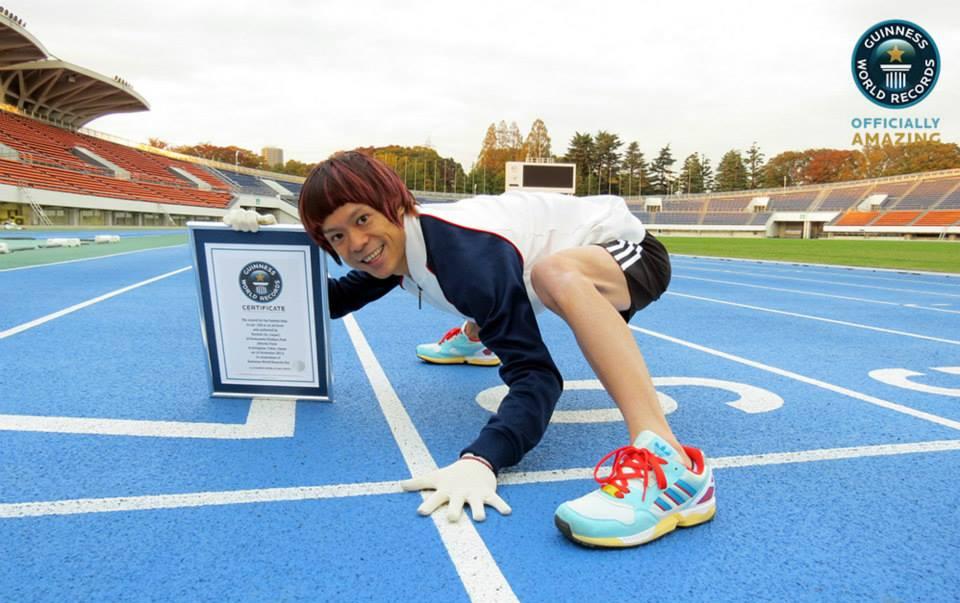 Najszybszy bieg naczworaka - rekord Guinessa
