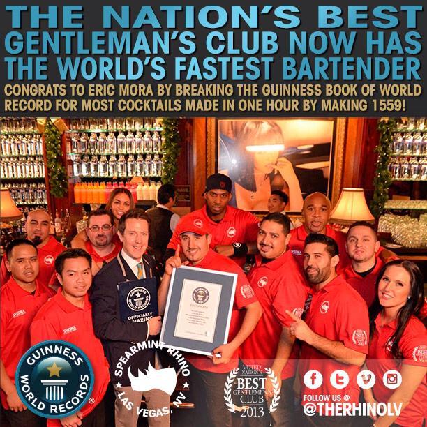 Najszybszy barman naświecie