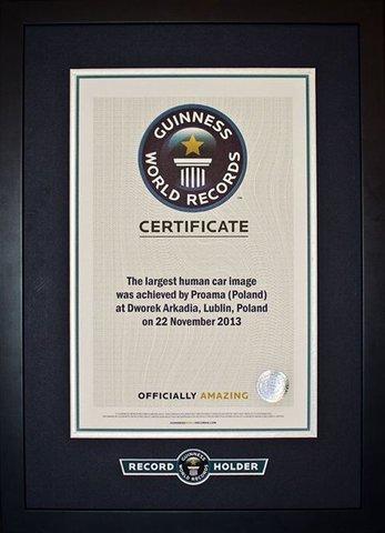 Rekord Guinnessa dla pracowników Proama