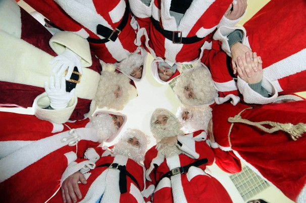 Tylu Świętych Mikołajów nie widział jeszcze nikt naświecie!