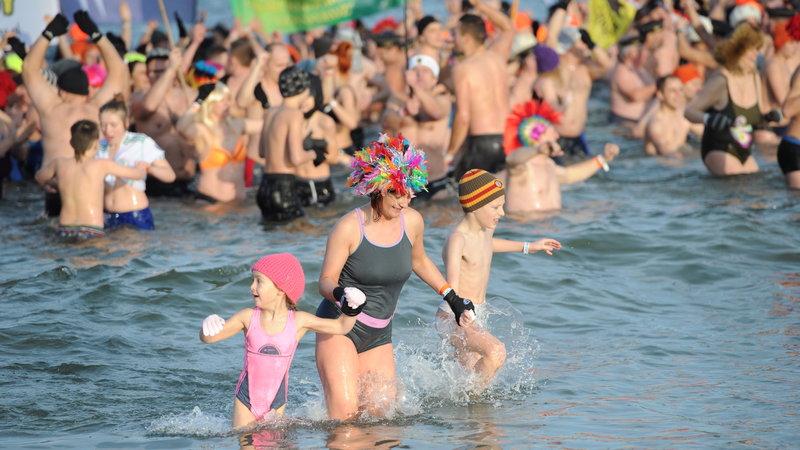 Zlot morsów - rekord Guinessa wKołobrzegu