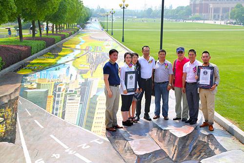 Największy obraz 3D - Chiny