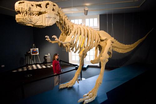 Największy szkielet zklocków Lego
