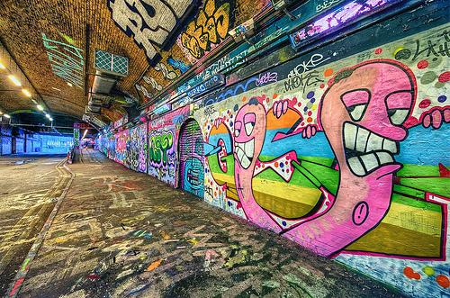 Londyn - graffiti