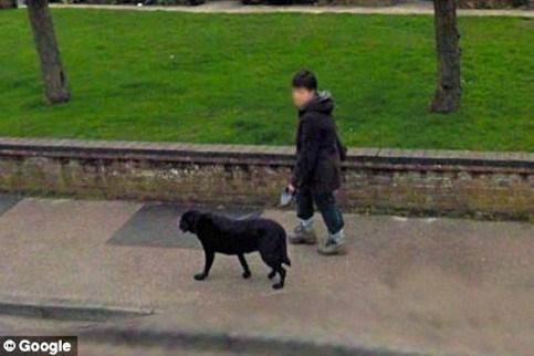 Najpopularniejszy człowiek naGoogle Street View