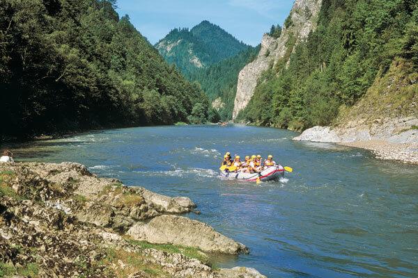 Pieniński Park Narodowy - spływ Dunajcem