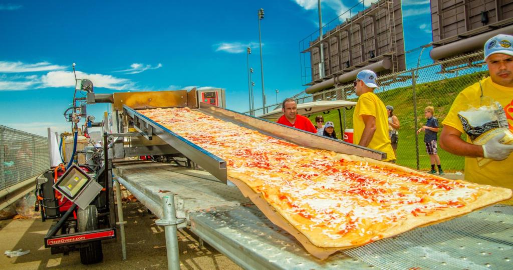 Fontana - najdłuższa pizza świata
