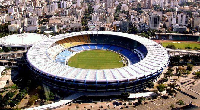 Stadion Maracanã wBrazylii
